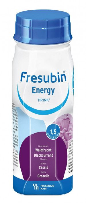 Fresenius Fresubin Energy Drink Zwarte bes