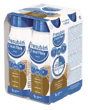 Fresubin 2 kcal Fibre Drink - Cappuccino - 4x200ml