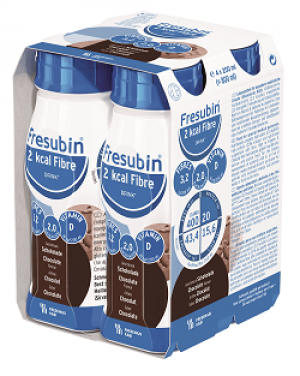 Fresubin 2 kcal Fibre Drink - Chocolade - 4x200ml