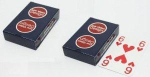 Extra Visible Speelkaarten set van 2 stuks