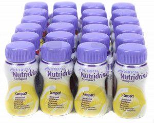 Nutridrink Compact Banaan | 6 pakken van 4x125ml