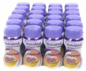 Nutridrink Compact Protein Perzik-Mango | 6 pakken van 4x125ml