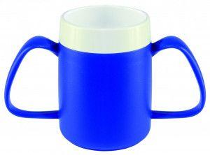 Ornamin Conische Ergobeker blauw