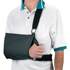 Shoulder sling immobilizer