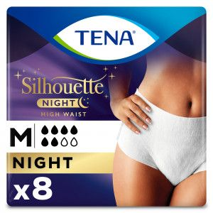 TENA Silhouette Lady Pants Night Medium 8 stuks