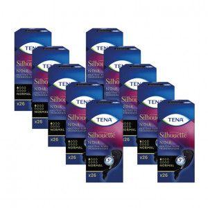 TENA Silhouette Normal Noir inlegkruisjes 5 pakken van 26 stuks