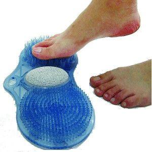 voetmatje met puimsteen