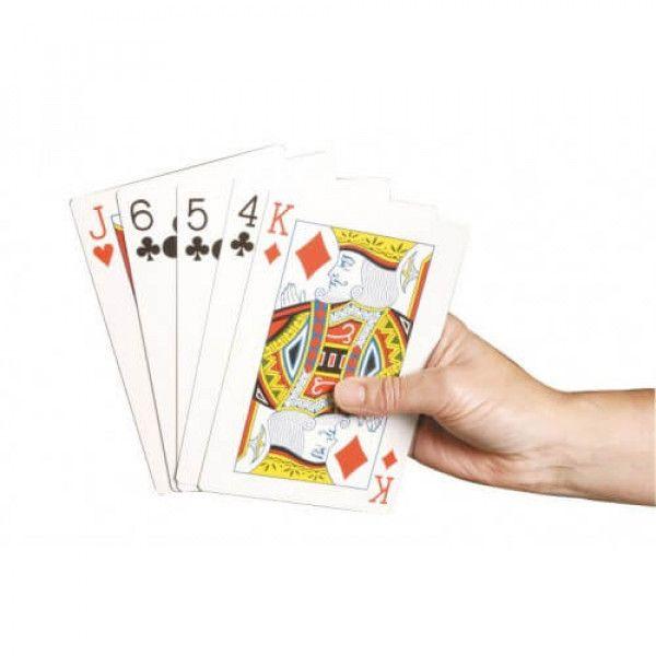 Strandtas Extra Groot : Extra grote speelkaarten kopen xl