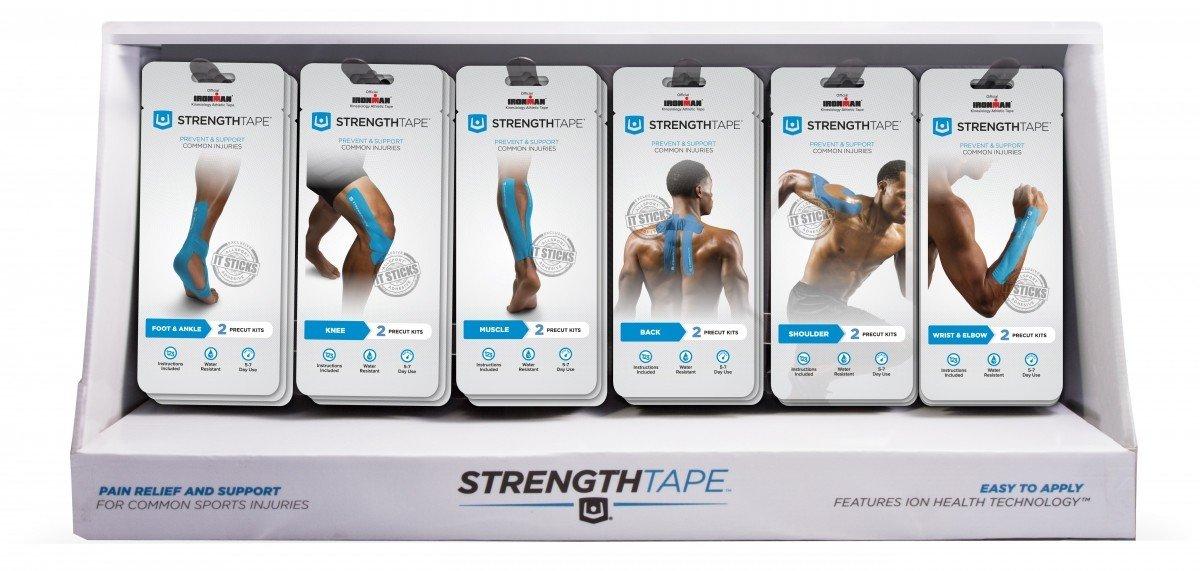 StrengthTape Mini Kits Display - 6 x 6 Stuks