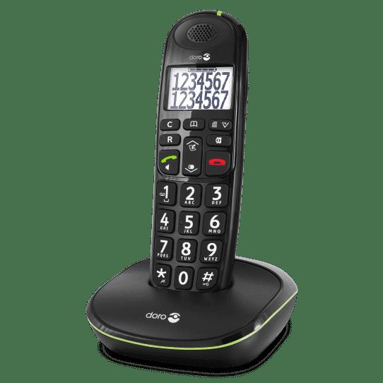 Doro PhoneEasy 110 Senioren Telefoon-Zwart