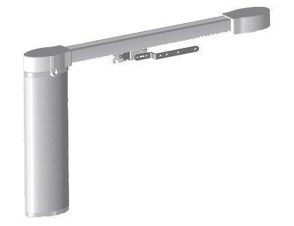 Elektrische Gordijnrails - 750 cm
