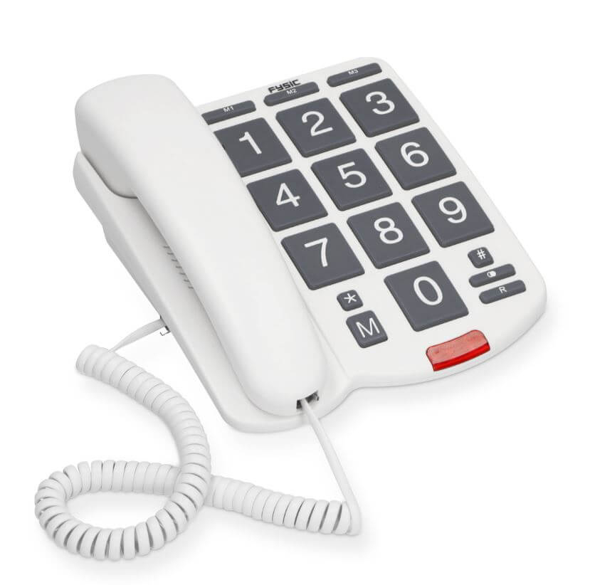 Fysic FX575 Grootcijfer telefoon