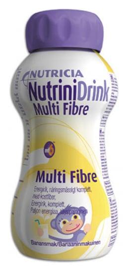 Nutrinidrink Multi Fibre - Banaan - 1x200ml