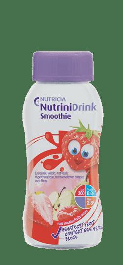 Nutrinidrink Smoothie - Rode Vruchten - 1x200ml