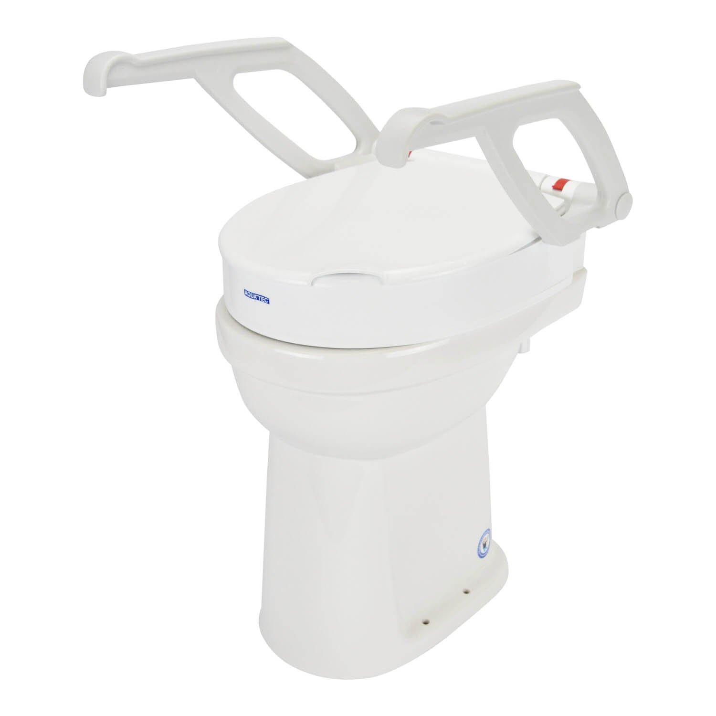 Toiletverhoger Aquatec 90000 met Armleuningen-2 cm