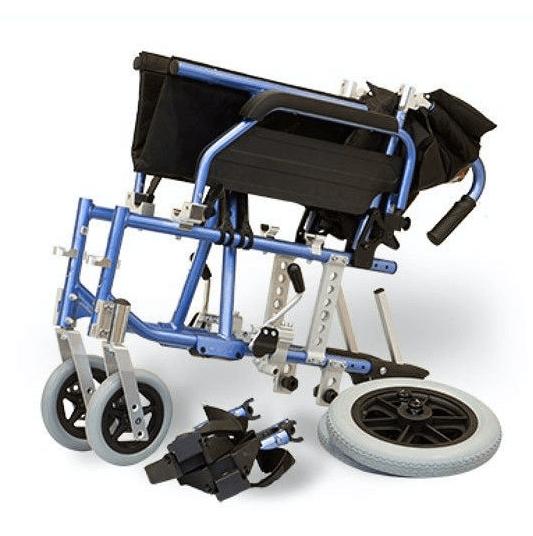 Opvouwbare rolstoel lichtgewicht